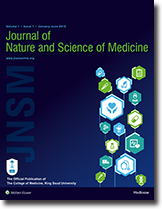 Journal of nature and science of medicine table of contents coverpage fandeluxe Gallery